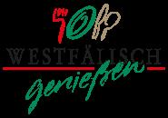 Westfälisch genießen Logo